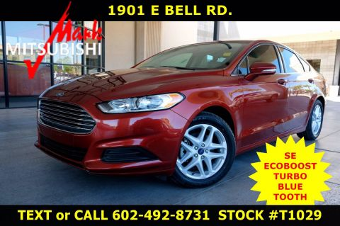 Pre-Owned 2014 Ford Fusion SE TURBO