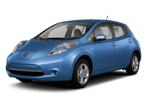 Pre-Owned 2012 Nissan LEAF SL PLUG IN